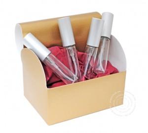 Probieren geht über Studieren: Geschenkbox mit vier Duftabfüllungen, Ackermann Beauty