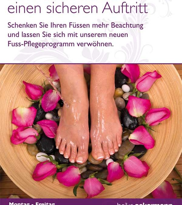 Fußpflege in Mainz im Heike Ackermann Beautystore