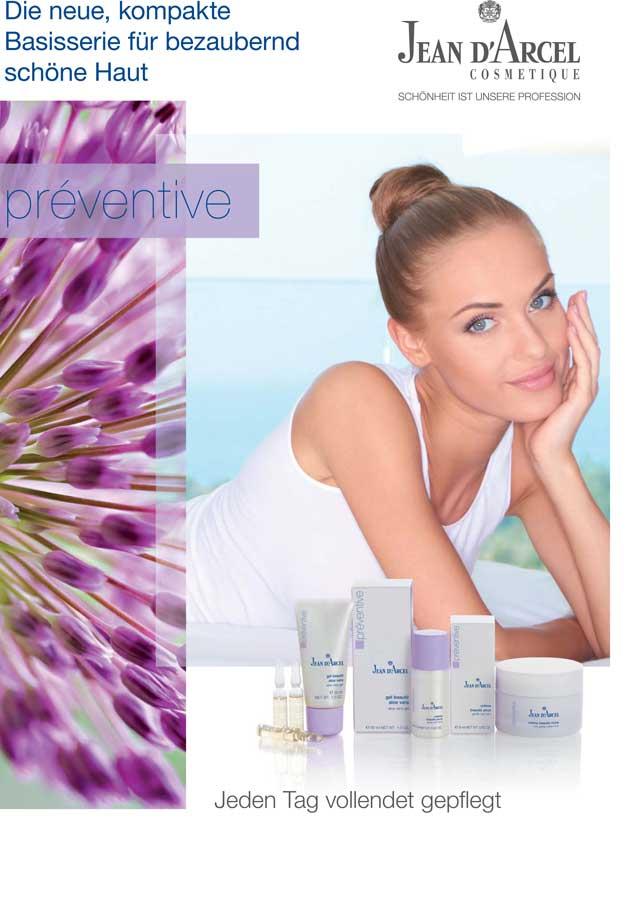 Jean D Arcel Preventive – Eine unkomplizierte Kosmetik-Linie, Ackermann Beauty