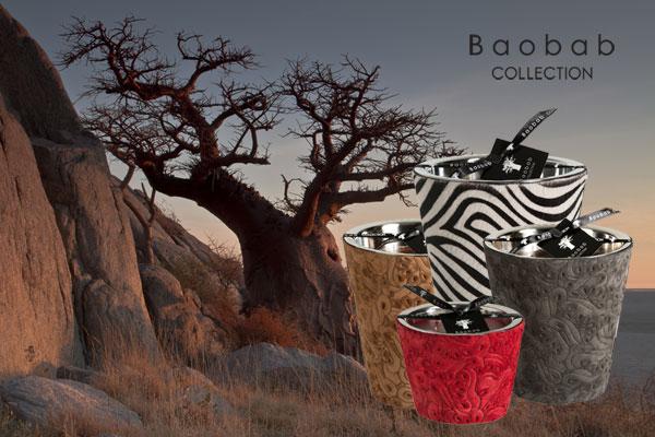 Die neuen duftenden Kerzen von Baobab