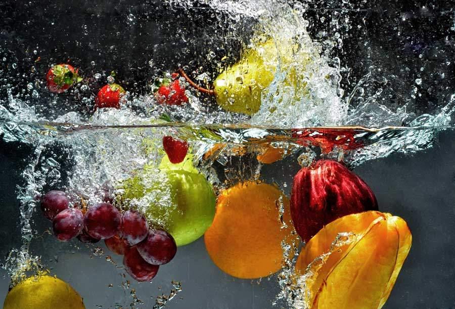 Fruchtig-Frisch - Fruchtwasser in der Kosmetik
