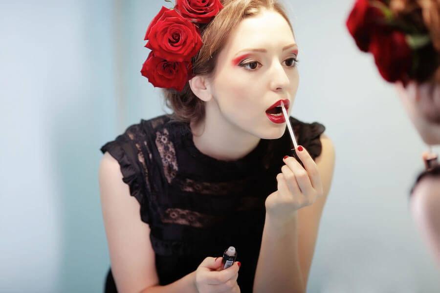 Lippenstifttrends: Schmollmund