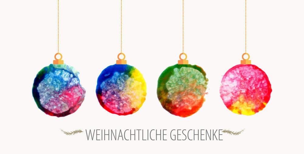 Weihnachten: Festliche Geschenkideen